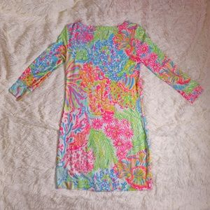 Lilly Pulitzer Dresses - Lilly Pulitzer Lover's Coral Sophie Dress XS Extra